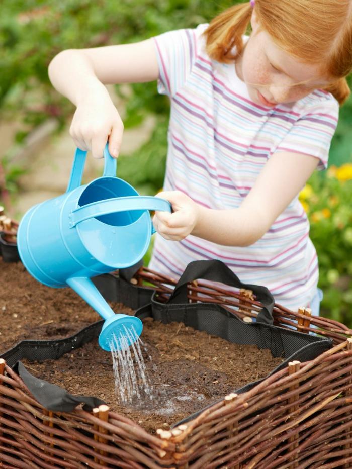 gemuesegarten anlegen blumenkaesten kinder erziehung