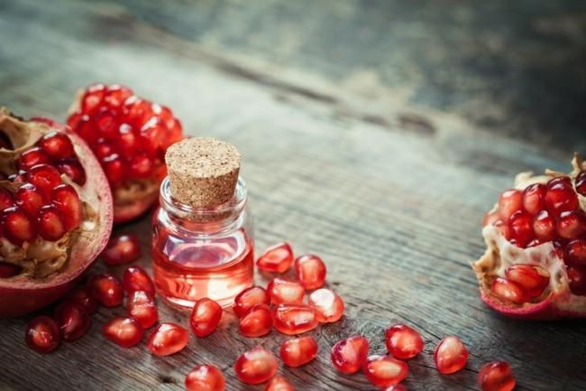 gesund abnehmen mit düften granatapfel