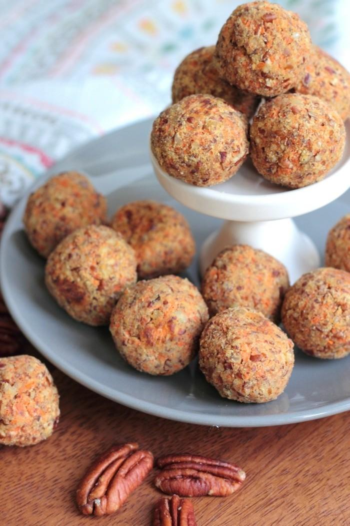 gesunde low carb energy balls rezept idee