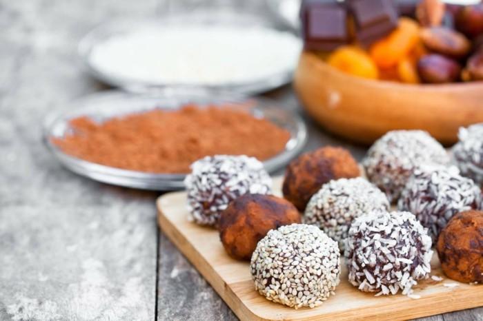 gesunde zutaten vegan energy balls rezept