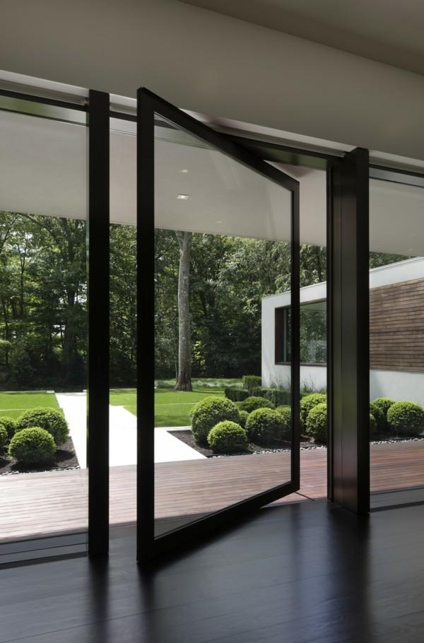 glas und metall moderne fassadengestaltung