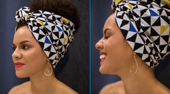 haar accessoires 2018 afrikanisch
