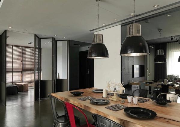 industrial design moderne küche