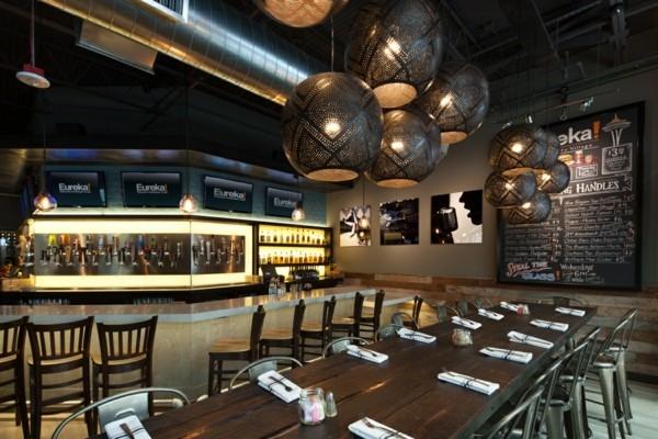industrial design restaurant inneneinrichtung