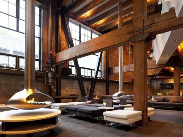 industrial design sehr hohe decken