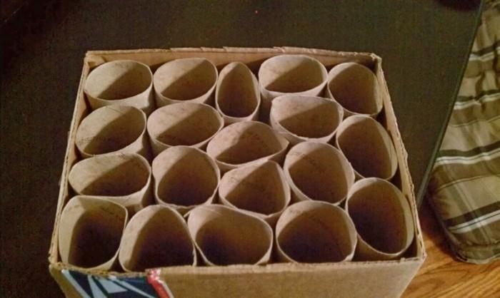 katzenspielzeug basteln labyrinth