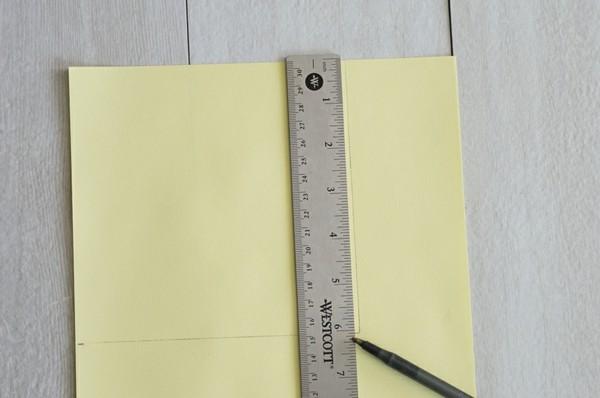 lesezeichen osterbasteln mit papier