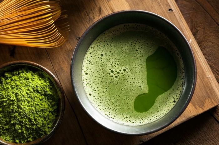 matcha tee japanisch gesunder wachmacher
