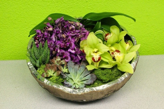 mit moos dekorieren fruelingsdeko naturmaterialien wanddeko ideen ostergeschenke basteln