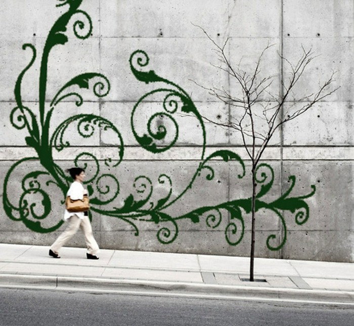 mit moos dekorieren fruelingsdeko naturmaterialien wanddeko ideen selber machen gestalten mit moos