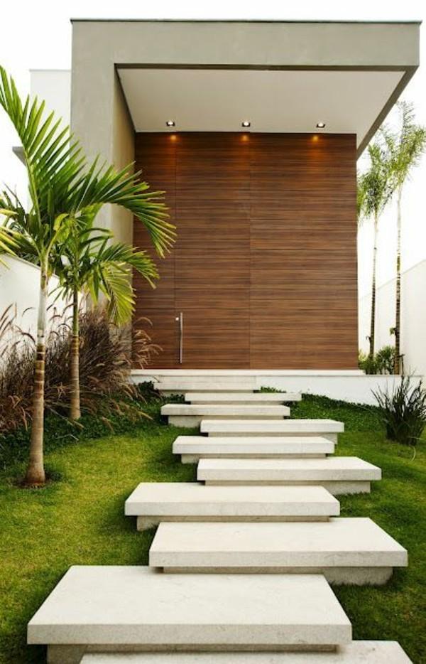 moderne fassadengestaltung minimalistisch und modern