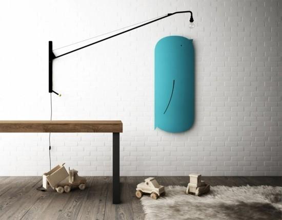 20 moderne heizk rper die f r w rme und individualit t im kinderzimmer sorgen. Black Bedroom Furniture Sets. Home Design Ideas