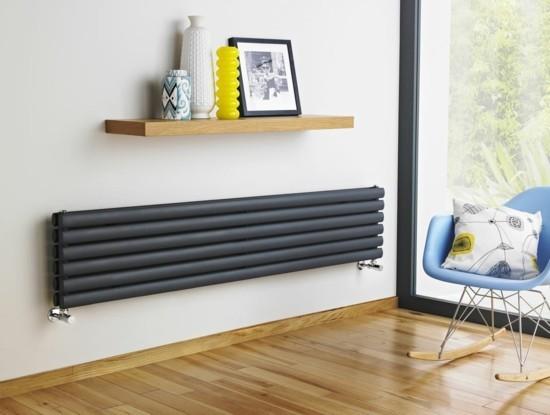 moderne heizköper kinderzimmer horizontal design blauer schaukelstuhl
