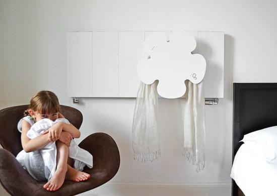 moderne heizköper kinderzimmer wandhalterung dekoriert