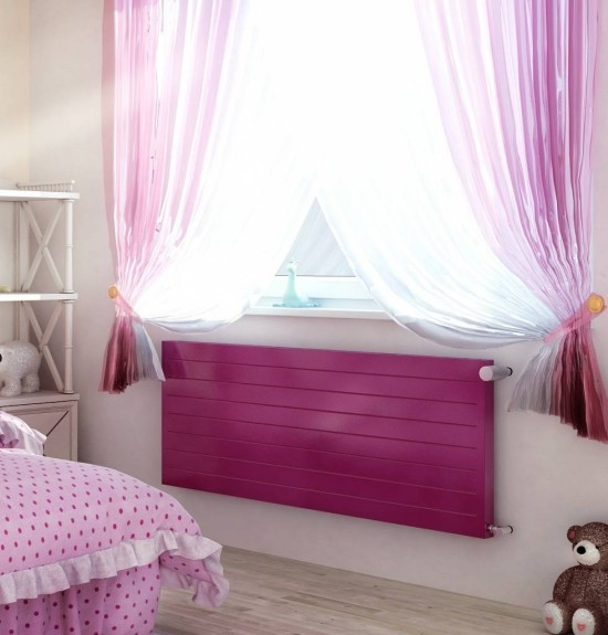 moderne heizköper rosa mädchenzimmer heizen