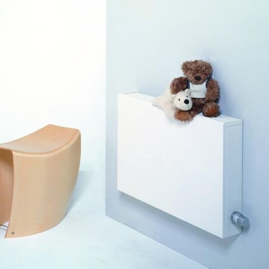 moderne heizköper stilvolles design wandhalterung kinderzimmer heizen ideen