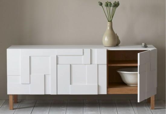 moderne kommode weiß sideboard wohnzimmer esszimmer