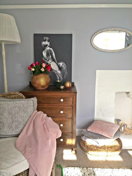 moderne kommode wohnzimmer stauraum ideen