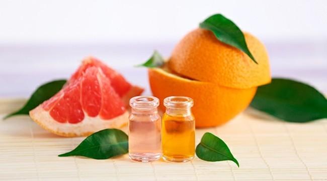orange grapefruit ätherische öle gesund abnehmen