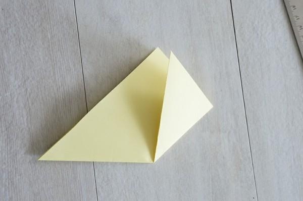 origami küken lesezeichen osterbasteln mit papier
