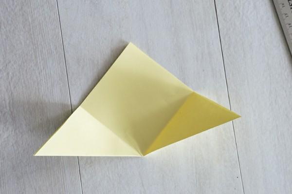 osterbasteln mit papier ideen küken