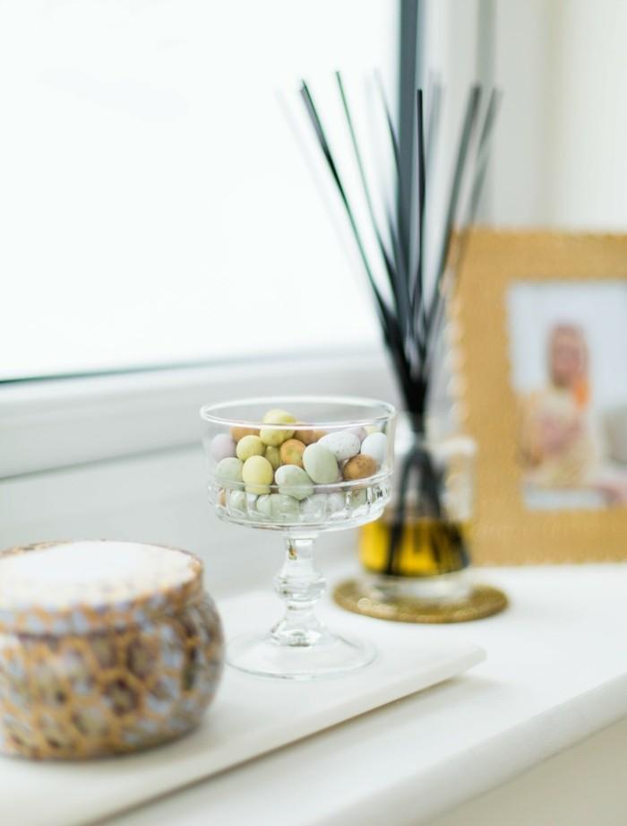 osterdeko fenster elegante dekoideen mit ostereiern