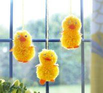 Osterdeko für Fenster lässt die Osterstimmung zum Ausdruck kommen