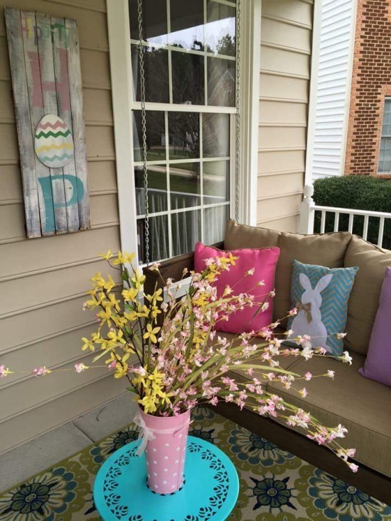 osterdeko pflanzen dekorieren