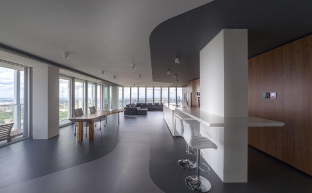 Moderne Architektur: Penthouse Apartment In Rotterdam