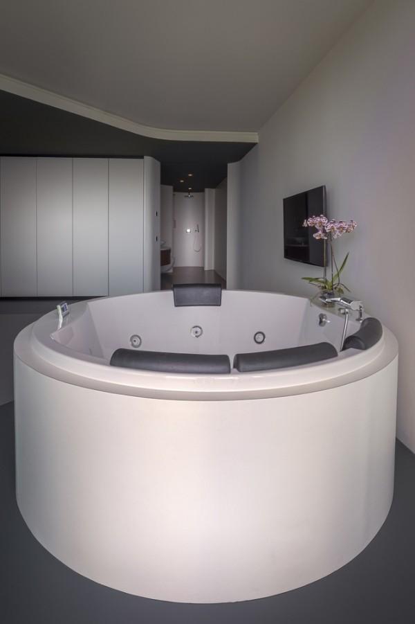 penthouse super moderne badewanne