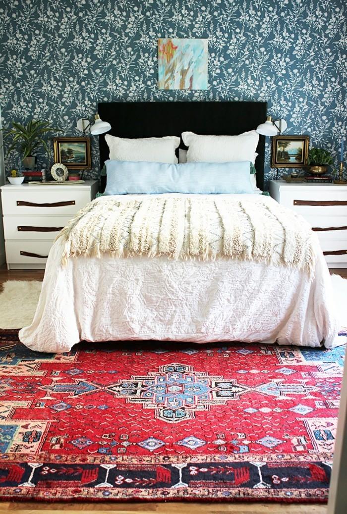 perserteppiche frisches schlafzimmer design