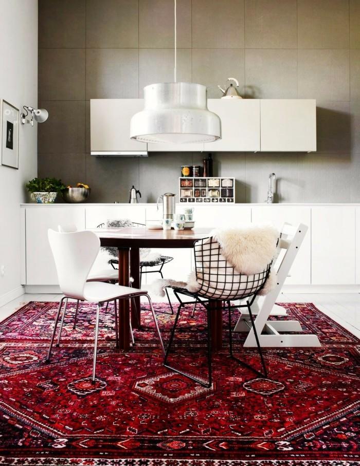 perserteppiche küche einrichten ideen weiße kücheneinrichtung