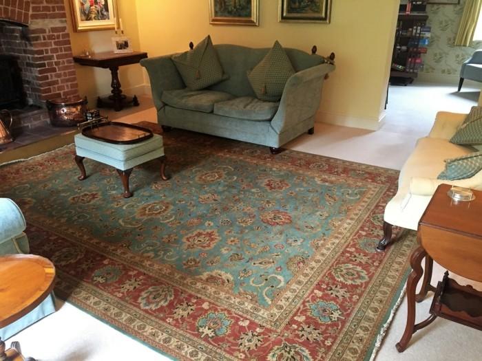 perserteppiche orientalischer hauch gemütliches wohnzimmer