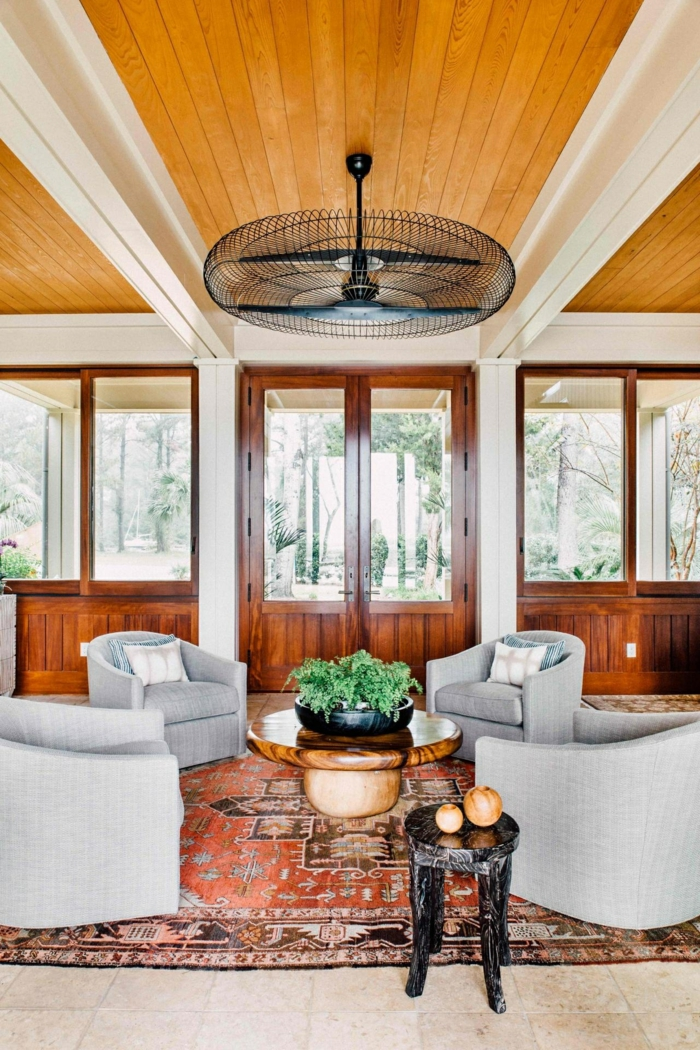 perserteppiche wohnzimmer dekoideen textilien