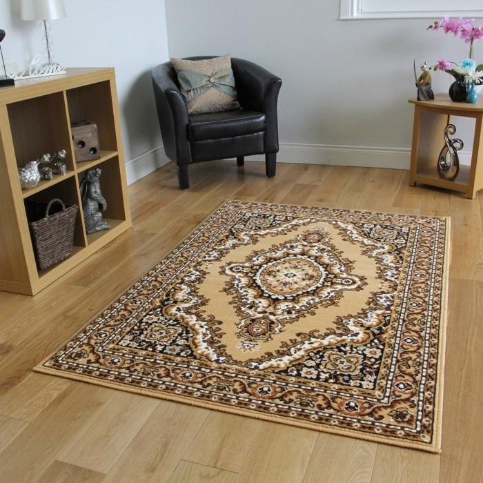 perserteppiche traditionell wohnbereich dekorieren orchidee