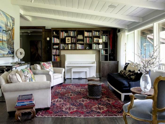 perserteppiche wohnzimmer stilvolle wohnzimmermöbel