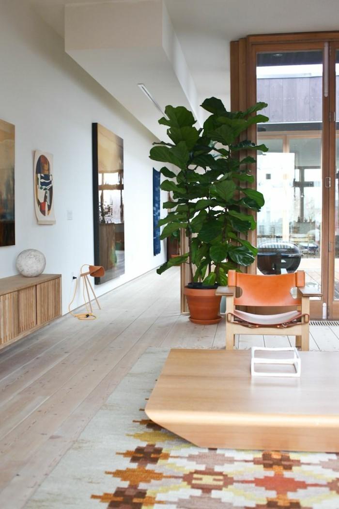 pflanze mit gro en bl ttern ein herrlicher hingucker zu hause. Black Bedroom Furniture Sets. Home Design Ideas