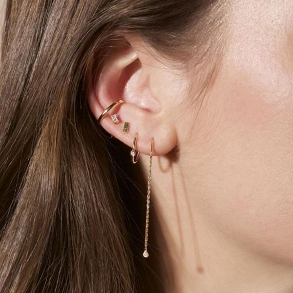 piercings hängendes design