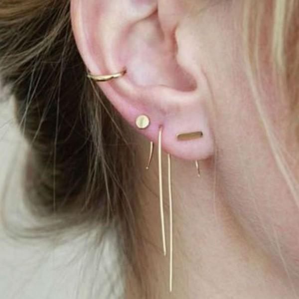 piercings mehrere minimalistische stücke