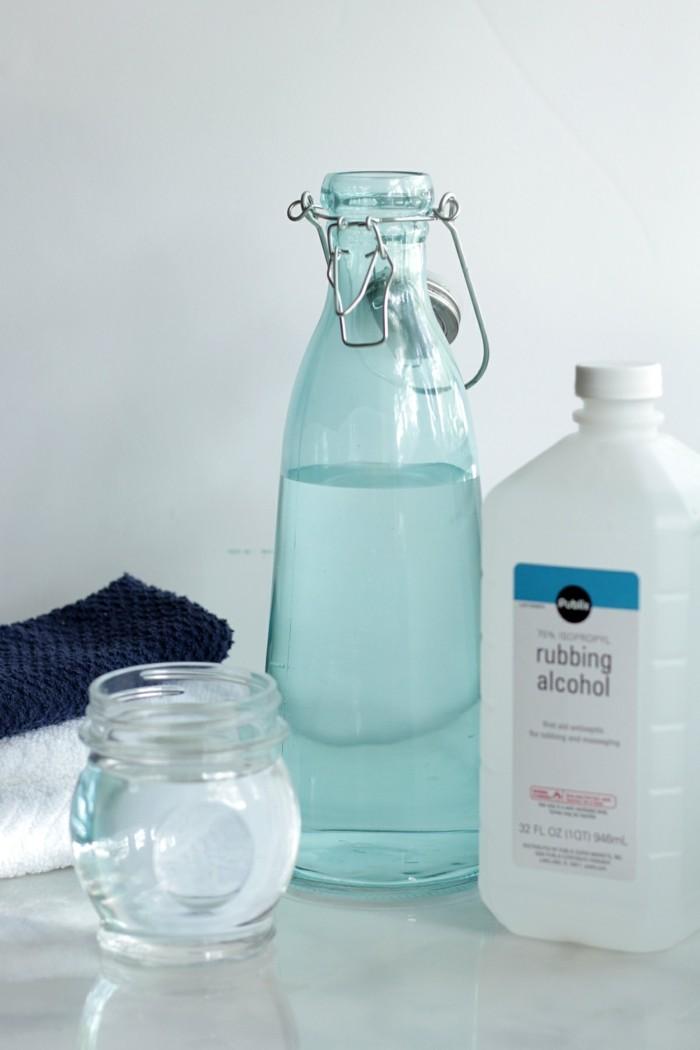 putzmittel selber machen ohne chemikalien allzweckreiniger hausgemacht alkohol