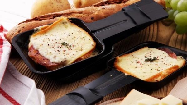 raclette ideen brot und käse