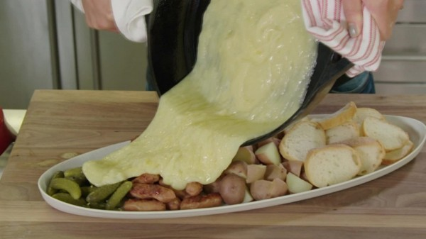 raclette ideen mit käse zubereiten