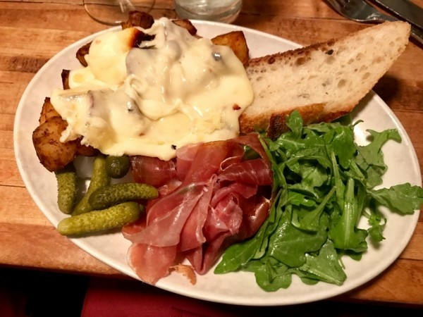 raclette ideen salat und gemüse