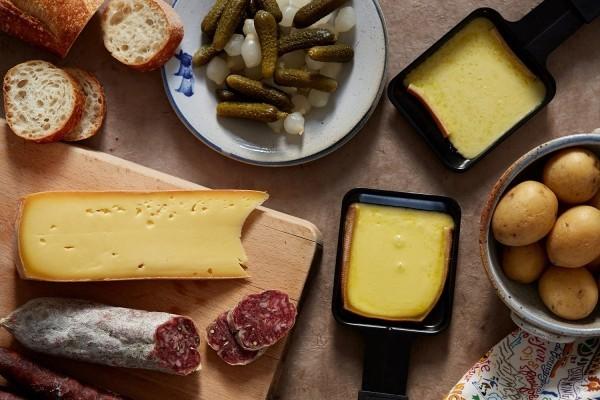 raclette ideen verschiedene käsesorten