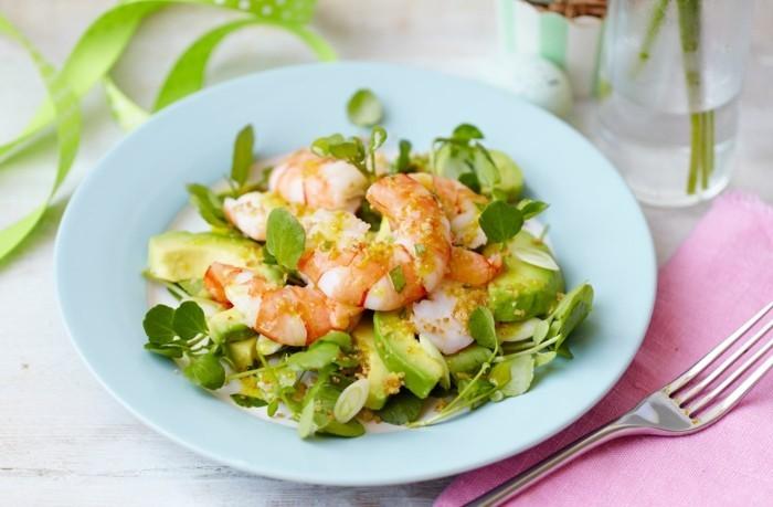 schrims krabben ostersalat mit avocado osterrezepte