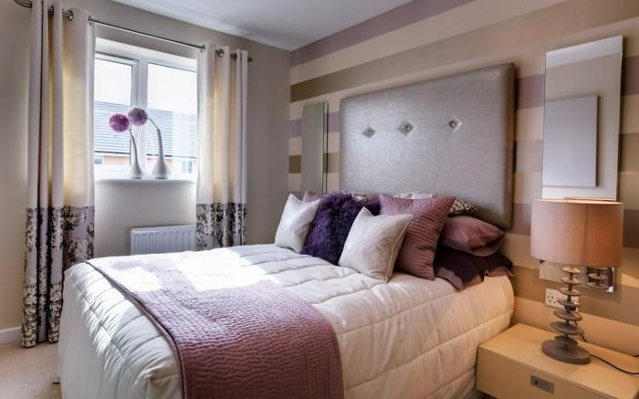 Tapeten Schlafzimmer U2013 Ideen Und Vorschläge Für Ein Erfolgreiches  Schlafzimmerdesign ...