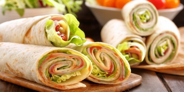 tortilla sandwiches wraps rezepte