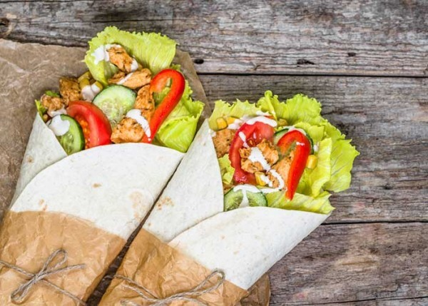 tortilla wraps rezepte idee