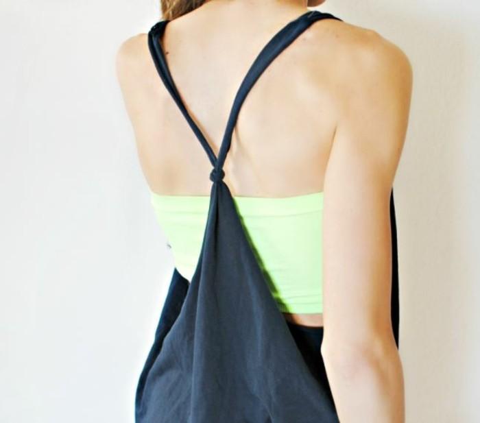 upcycling kleidung tshirt verwerten vorbereitung sommerlich