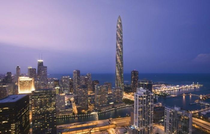 wolkenkratzer chicago idee